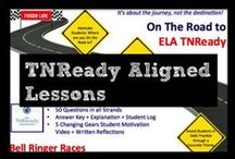 TNReady Aligned Lessons / This board includes TNReady aligned lessons for middle school ELA.