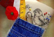 Pinkeep~ / A collection of pincushions pin keeps vintage pins sewing tools
