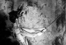 Body Painting YAKUZA SPIRIT / Bodypainting : Elsa Joubert Photos: Adèle Delos Headpiece & studio : Annliz Bonin Modèle: Miss Tenshi shooting 2o15
