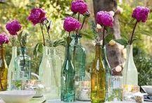 Hochzeit Dekoration mit Blumen / Ideen Hochzeit Dekoration