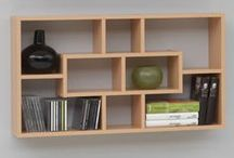 SHELVES WALL MOUNTED / Wall mounted book and display shelves