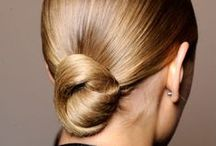 Pull It Together Girl / Ponytails, buns and updos to inspire you.