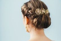 Wedding Hairstyles / Hairstyle inspiration for brides-to-be!