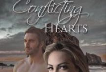 Conflicting Hearts, a Novel / Two lovers, with different desires, collide in a tale of one woman's struggle to overcome the effects of childhood abuse.  Jane Burrows, Author  http://conflictinghearts.com