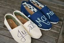 wedding shoes and mother of the bride shoes / by Frances DiMaio