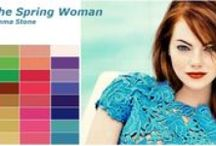 Color Analysis ♚ Spring Women / Color analysis The four seasons (autumn, winter, spring and summer). You can achieve any image you want to reflect through the right selection of your color. In fact everyone's personal color palette is associated to his skin tone. You just have to know how to fit your dress ,make-up and hair style depending on the different situations Silk Gift Milan takes care of you and assists you to ensure you will have the right color match and personalized style just for you.