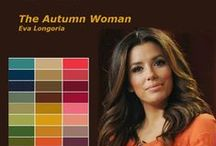 Color Analysis ♚ Autumn Women / Color analysis The four seasons (autumn, winter, spring and summer). You can achieve any image you want to reflect through the right selection of your color. In fact everyone's personal color palette is associated to his skin tone. You just have to know how to fit your dress ,make-up and hair style depending on the different situations Silk Gift Milan takes care of you and assists you to ensure you will have the right color match and personalized style just for you.