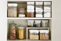 An Organized Kitchen / A place for everything, and everything in its place. Nothing makes it easier to move around the kitchen than knowing precisely where all your thingamabobs are. Here are a few ideas that might help.