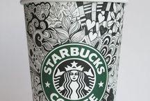 Zentangles, word art and doodles / Zentangles and doodles! ❤️