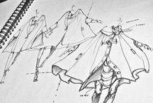 Fashionable Creativity / Ideas - Sketches - Books
