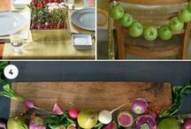 HOLIDAY DECORATIVE IDEAS / by Donna Casler