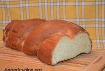 Recette facile de Pain, croissant et autres viennoiserie / Recette facile pour faire soi-même ses croissants, son pain et autres viennoiserie