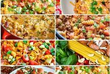 ALL THINGS PASTA,MACARONI AND NOODLES!!!!!!!!! / DIFFERENT KIND OF PASTA DISHES, / by Donna Casler