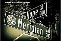 Street Sign Photography / Conceptual Street Sign Photography exclusively by Mistah Wilson Photography