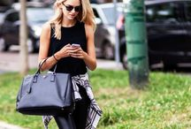 Pure Decadence / How to style your designer bags
