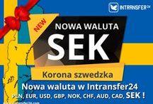 Waluty w Intransfer24