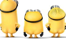 Minions / Minions are cute and funny and also like bananas