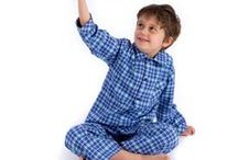 Children's Pyjamas for Winter - The Pyjama House / Cosy, traditional flannel pyjamas by The Pyjama House