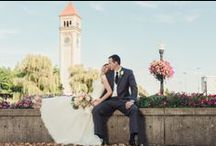 Spokane Center Weddings / Downtown amenities, gorgeous views of Riverfront Park and straightforward planning.   Who knew a convention center could offer such an awesome wedding venue option!?!