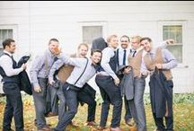 Groom Style / It's not all about the bride! Groom's have style too!