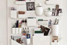 Clean & organize / X