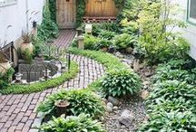 gardening - pool -pond -fountain-path