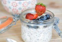 Healthy breakfast / Petits déjeuners sains
