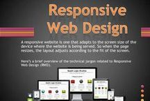 Responsive Web Design / Responsive web design (RWD) is an approach to web design aimed at crafting sites to provide an optimal viewing experience—easy reading and navigation