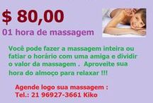 Massagem na Hora do almoço / Faça sua massagem na hora do almoço , no Centro da Cidade Rj