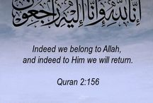 Religion / Quotes and inspiration about Allah, being a Muslim, and the beautiful religion of Islam.