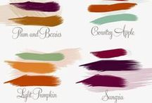 Color Palettes for your Wedding / Find the perfect palette for your NE Wisconsin Wedding!