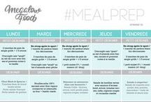 MEAL PLAN / MEAL PREP