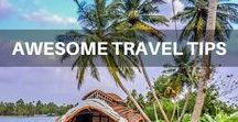 Awesome Travel Tips / Awesome Travel Tips from other bloggers and us.  Budget Travel   Backpacker Travel   Travel Bloggers   Digital Nomads   World Travel   Top Travel Tips   Travel Inspiration  Travel Advice