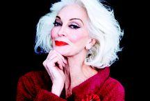 WOMAN'S  SENIOR SUBLIME / woman - femme- + de 50 ans- sublime - style- mode- beauté-charisme-