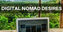 Digital Nomad Desires / Our journey on how to become location independent. Tips and advice on remote working.