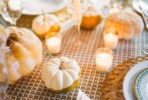 Holiday Decor Inspiration / A collection of our favorite holiday decor inspiration, from table settings to festive decorations.
