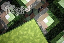 Baby Quilt Examples / by RoseBud Designs