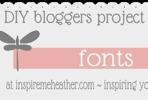 Printables & Fonts etc.