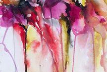 Painting / Schilderen is mijn hobby, daar kan ik helemaal in wegdromen