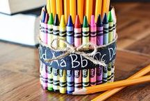 Kids Crafts with Crayons / Color, build, wear, melt - the possibilities are endless with these inspiring Crayon craft ideas!