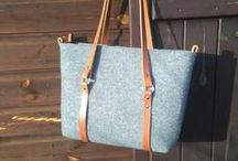 Bags / Bags - felt and linen