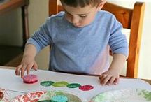 Kids Crafts with Paint /  Easy and fun project ideas and activities to inspire you to pull out the paint and use your imagination!