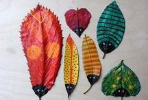 Kid Crafts for Fall / Fall is in the air! Get ready with kids' crafts for more fall inspiration.