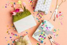 Colorful Gift Ideas / Need the perfect gift or a creative wrapping idea? We've got you covered with a ton of homemade, DIY gifting projects.