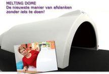 Melting Dome afslankcabine / De nieuwste manier van afslanken zonder iets te doen!