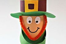 St. Patrick's Day Crafts / Looking for a pot of gold at the end of the rainbow?! Check here for all things St. Patrick's Day and fun crafts for the kids.