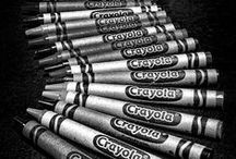 Crayola Loves Black / A classic needs to be celebrated! Find inspiration here for the color Black.
