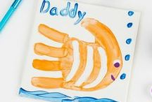 Father's Day Crafts / Dad's lessons stay with us always. Find colorful ways to thank Dad this Father's Day with crafts and gift ideas! / by Crayola