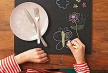 Chalkboard Art / Chalkboards aren't just for the classroom! Find innovative ways to play and create with chalkboards and chalk.
