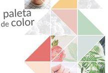 Paletas de Color Decoración / Colors / Decoración, paletas de color, diseño, inspiración